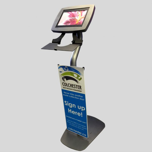 portable display unit